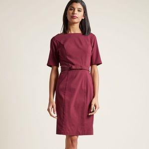 Modcloth Ritzy Wishes Sheath Dress